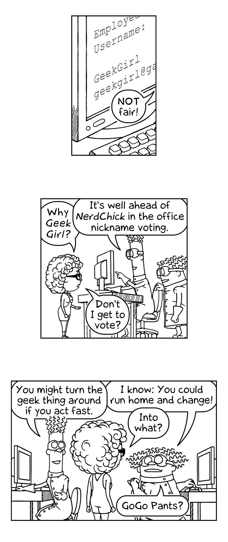 034 | Geek Girl
